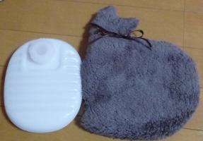 ケースと湯たんぽ.JPG